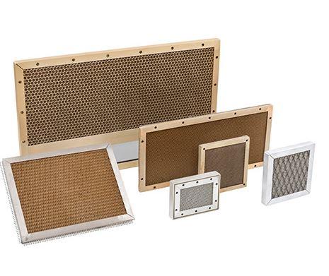 EMC Brass Honeycomb Vent