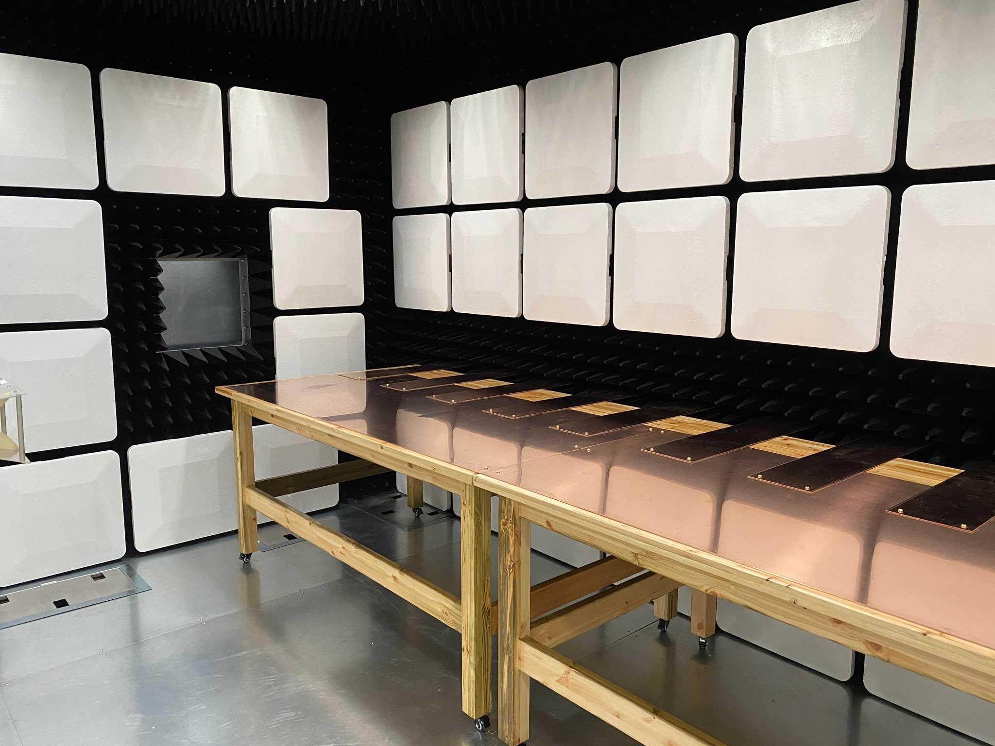 EMC Test Chamber MIL STD 461