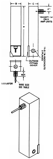 EMI Power line filter 1