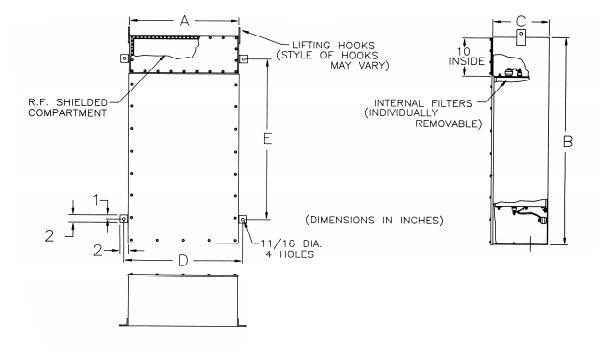 HEMP filter UL listed 1283