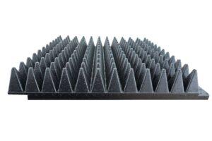 High Power Millimeter wave Pyramidal Absorber