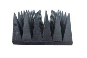 High Power Pyramidal RF Microwave Absorber Cones