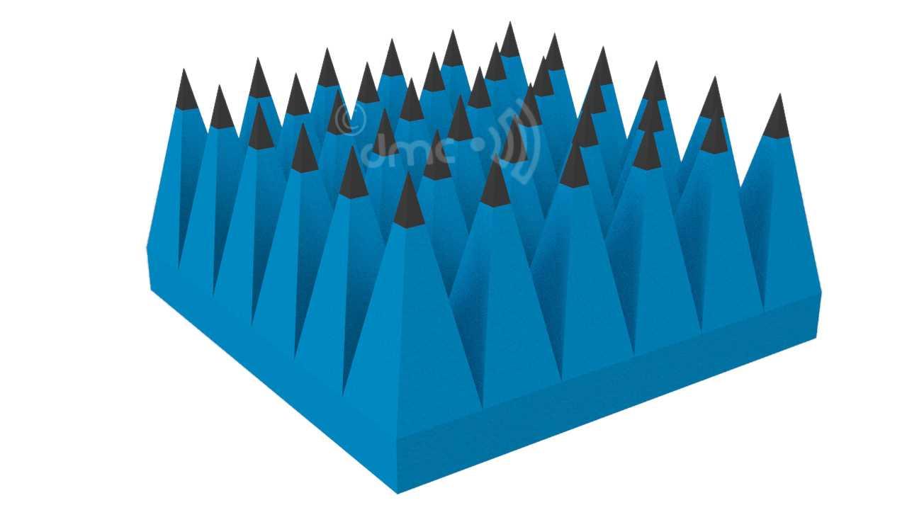 Pyramidal RF Foam Absorber 300mm