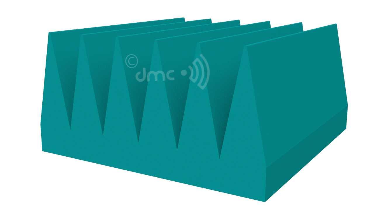 RF Microwave Wedge Absorber